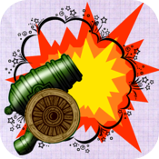 Doodle Cannon War: The shadow of the ghost!