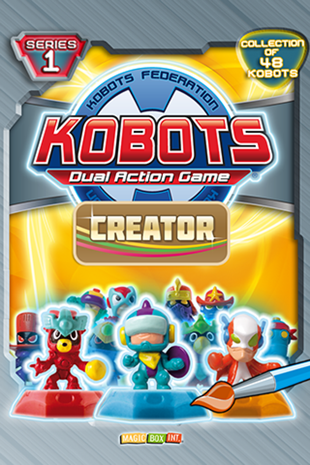 Screenshot Kobots Creator